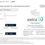 American eagle credit card login