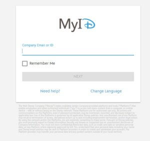 DineyHub Login - myid disney Sign in for employee