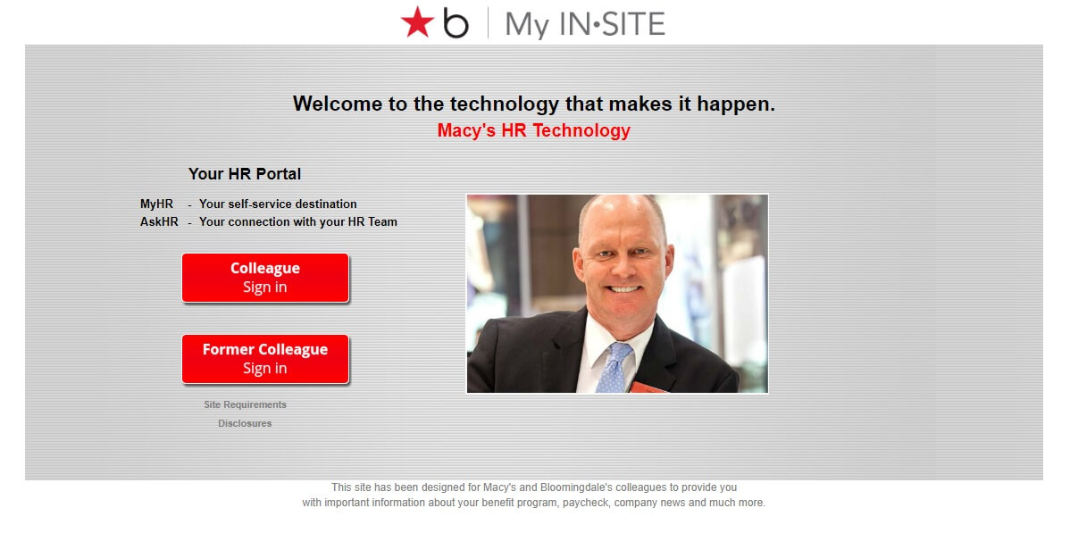 macys insite login - my insite sign in for employees
