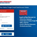 Harbor Freight Credit Card Login Payment Application