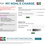 MyKohlsCharge Login - Make Payment at www.mykohlscharge.com
