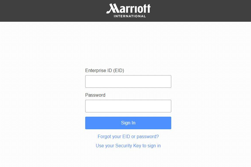 4Myhr Marriott Login
