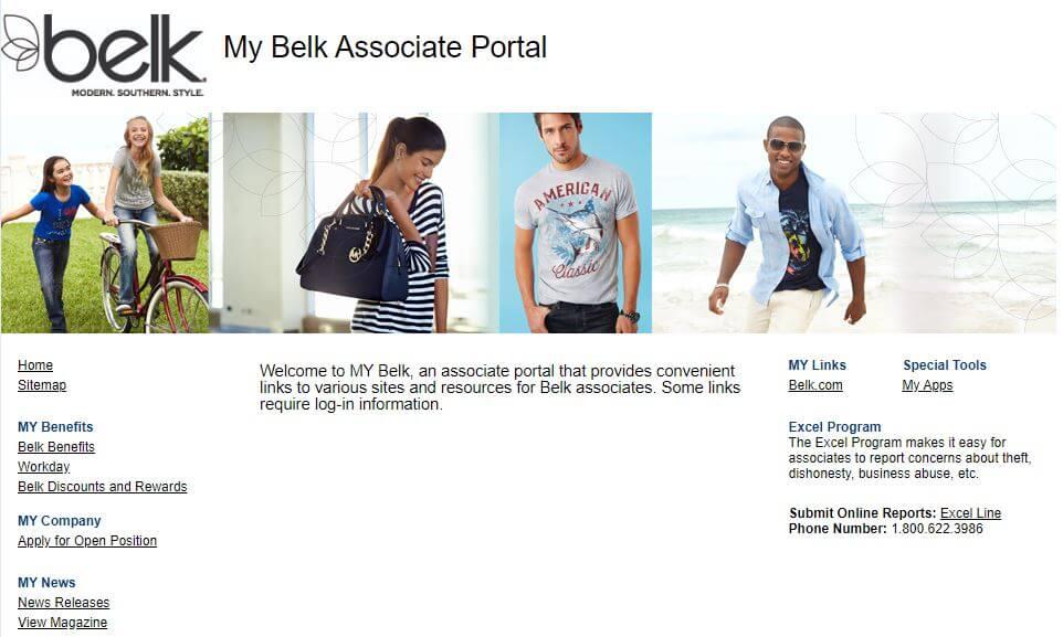 Belk Associate Portal Login