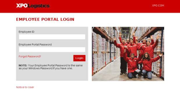 Con Way Employee Portal Login