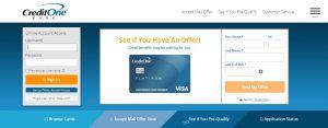 Credit One Login | Credit One Bank Login