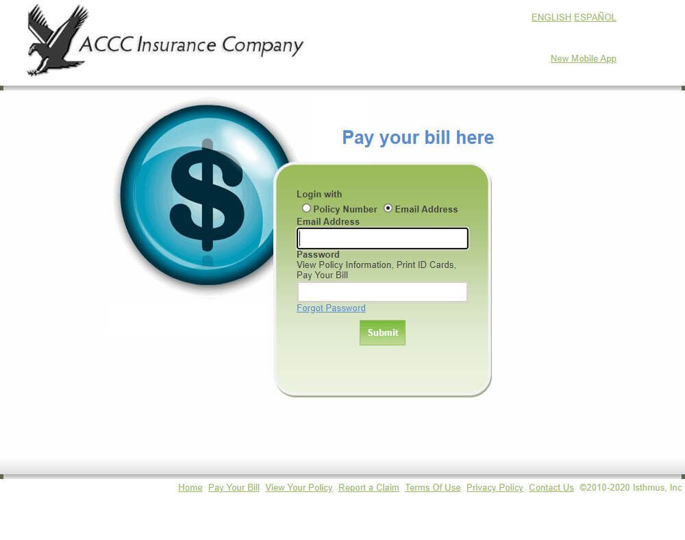 Drive With The Eagle Insurance login, bill payment, Claim, customer service contact