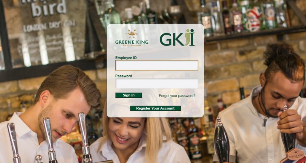 Greene King GKI Login
