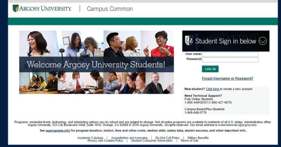 MyCampus.Argosy.edu Login