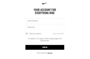 Nike Credit Card Application