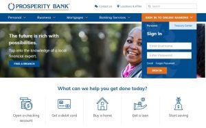 Prosperity Bank Login