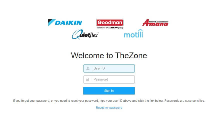 The Zone Goodmanmfg Login