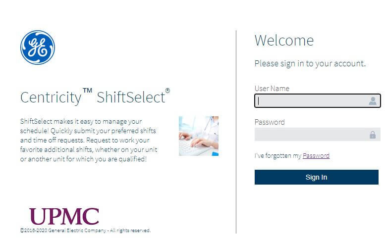 Upmc Shift Select Login
