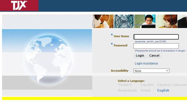 www.mytjx.com Login